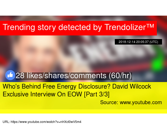Who's Behind Free Energy Disclosure? David Wilcock Exclusive