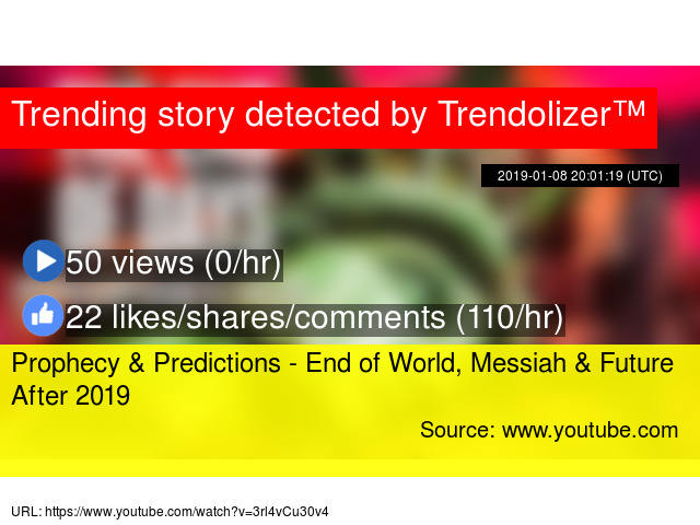 Prophecy & Predictions - End of World, Messiah & Future