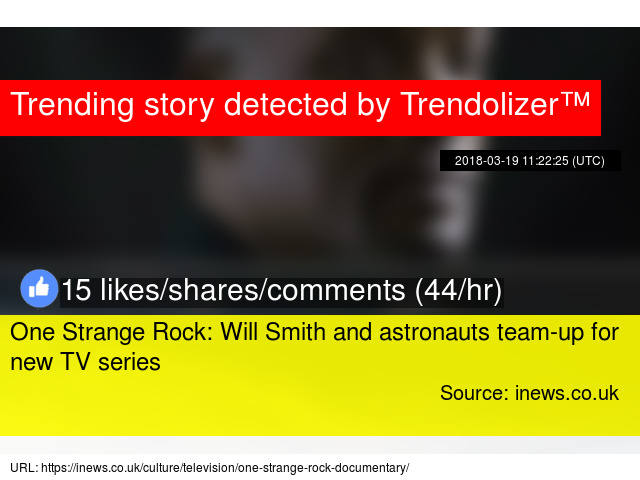 One Strange Rock: Will Smith and astronauts team-up for new
